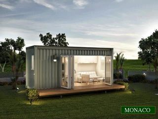 Studio Granny Flats on Small Modular Green Pods Homes